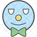 Clown Head Joker Icon