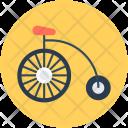 Clown Cycle Bike Icon