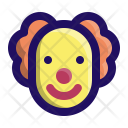 Clown Party Smile Icon