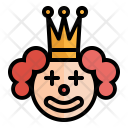 Clown Smile Party Icon