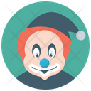 Santa Clown Joker Circus Joker Icon