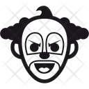 Halloween Buffoon Clown Icon