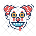 Clown Spooky Horror Icon