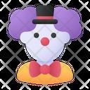 Clown Costume Carnival Icon