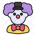 Clown Costume Carnival Icon