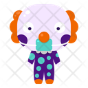 Clown Halloween Costume Icon