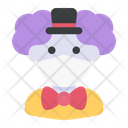 Clown Avatar Medical Mask Icon