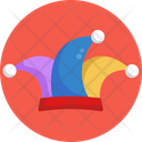 Clown Hat Halloween Icon