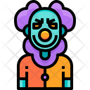 Scary Fear Halloween Icon
