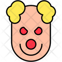 Clown Creepy Face Icon