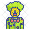 Clown Joker Carnival Icon