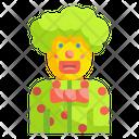 Clown Joker Carnival Icon