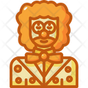 Clown Professions And Jobs Character Icon