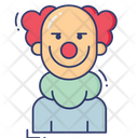 Clown Avatar Circus Icon