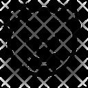 Clown Face Emoji Icon