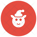 Clown Christmas Animal Icon