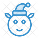 Clown Christmas Animal Icon