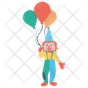 Balloon Seller Clown Balloons Balloons Vendor Icon