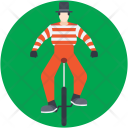 Clown Bicycle Icon