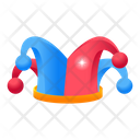 Clown Hat Clown Cap Headwear Icon