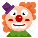 Clown Face Carnival Circus Show Entertainer Festival Icon
