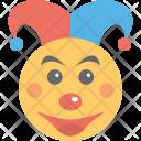 Clown Circus Mask Icon