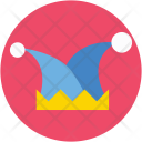 Clown Hat Jester Icon