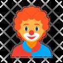 Clown male Icon
