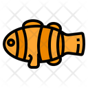 Clownfish Ocean Aquatic Icon
