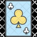 Club Card Playing Icon