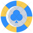 Club Coin Cards Icon