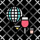 Alcoholic Tour Color Icon