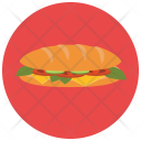 Club Sandwich Bread Icon