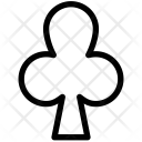 Club Poker Element Icon