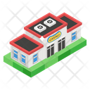 Commercial Center Commercial Building Modern Building Icon