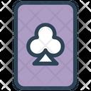 Poker Card Playing Casino Icon