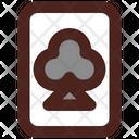 Club Card Poker Card Casino Card Icon