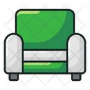 Sofa Furniture Couch Icon