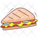 Club Sandwich Lunch Fast Food Icon