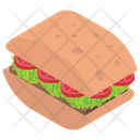 Club Sandwich Sandwich Panini Icon
