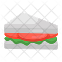 Club Sandwich Breakfast Fast Food Icon
