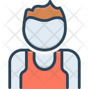 Clubber Adult Character Icon