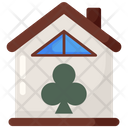 Clubhouse Club Building Icon