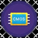 Cmos Sensor Computer Icon