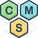Cms Content Management Icon