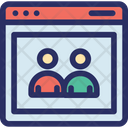 Cms Contact Database Icon
