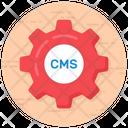 Content Management Cms Content Development Icon