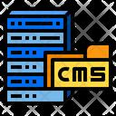 Cms Internet Digital Icon