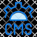 Cms Website Gear Icon