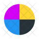 Cmyk Color Inkjet Icon